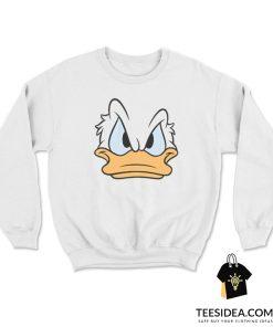 Angry Donald Duck Sweatshirt