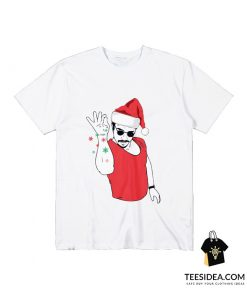 Salt Bae Santa T-Shirt