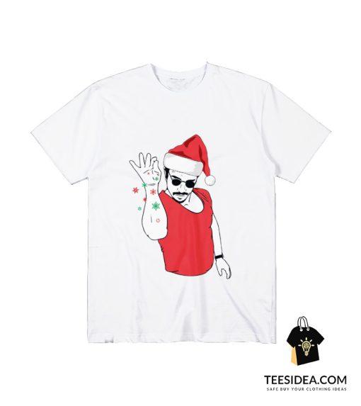 Salt Bae Santa T-Shirt