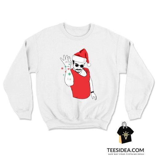 Salt Bae Santa Sweatshirt