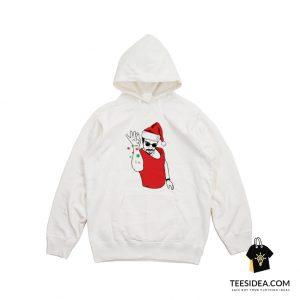 Salt Bae Santa Hoodie