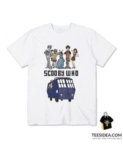 Scooby Who Parody Doctor Who T-Shirt