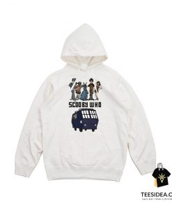 Scooby Who Parody Doctor Who Hoodie