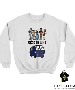 Scooby Who Parody Doctor Who Sweatshirt