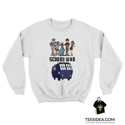 Scooby Who Parody Doctor Who Sweatshirt