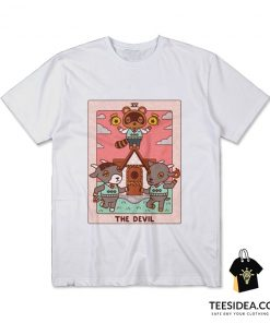 Animal Crossing The Devil Tarot T-Shirt