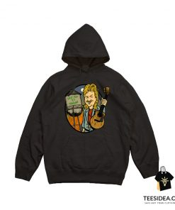 Billy Bob Loves Charlene Guitar Hoodie