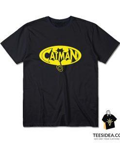 Catman Shirt Cat man Real Men Love Cats T-Shirt