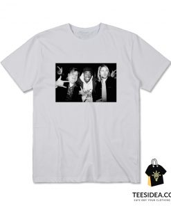 Chris Farley Kurt Cobain 2pac Tupac Hanging Out T-Shirt