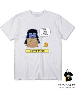Darth Tater Star Wars Parody T-Shirt