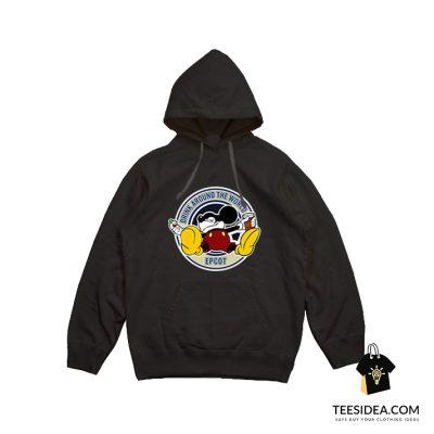 Drunk Mickey Around The World Epcot Hoodie
