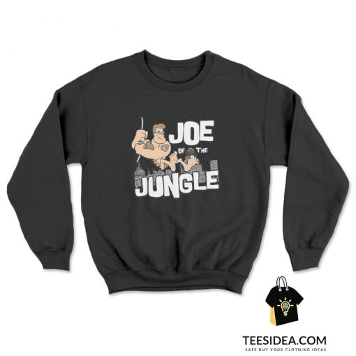 Joe Burrow Joe Of The Jungle Sweatshirt