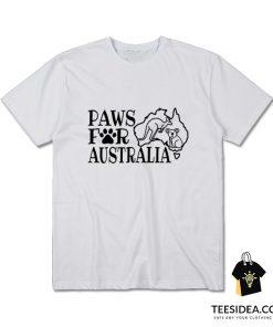 Koala and Kangaroo Paws for Australia T-Shirt