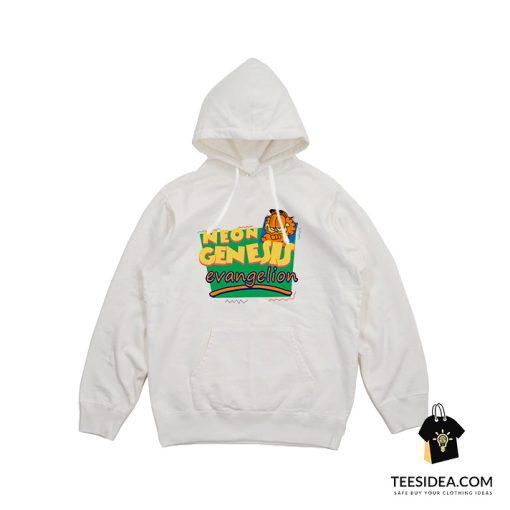 Neon Genesis Evangelion Garfield Hoodie