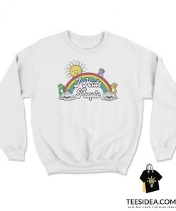 Rainbow Bear Cute I Hate People Sweatshirt