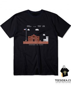 Remember the Alamo Mario T-Shirt