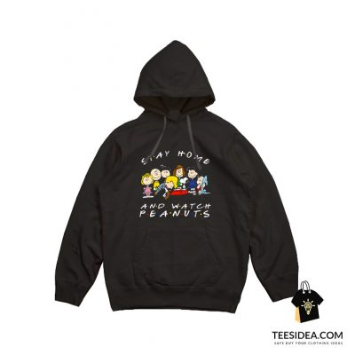Snoopy Stay Home and Watch Peanuts Movie Hoodie