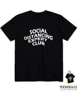 Social Distancing Expert Club T-Shirt