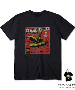 Stay At Home Festival The Coughspring No Cure T-shirt