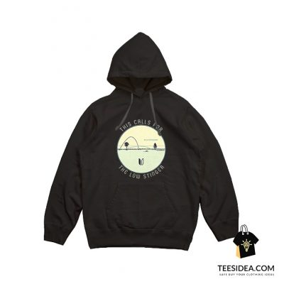 This Calls For The Low Stinger Flatten The Curve Hoodie
