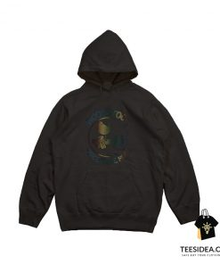 Woodstock Peace Love Music Technicolor Birdie Hoodie