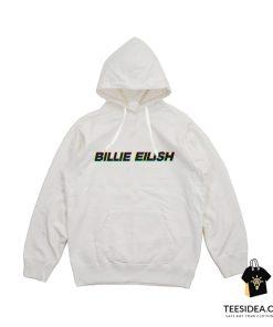 Billie Eilish Anaglyph 3d Hoodie