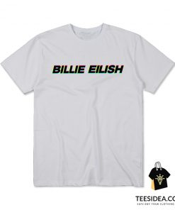 Billie Eilish Anaglyphenbild 3d T-Shirt