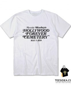 Arctic Monkeys Hollywood Forever Cemetery T-Shirt