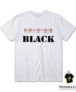 People Of Color Black T-Shirt