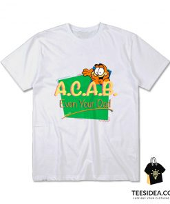 Vintage Inspired ACAB Garfield T-Shirt