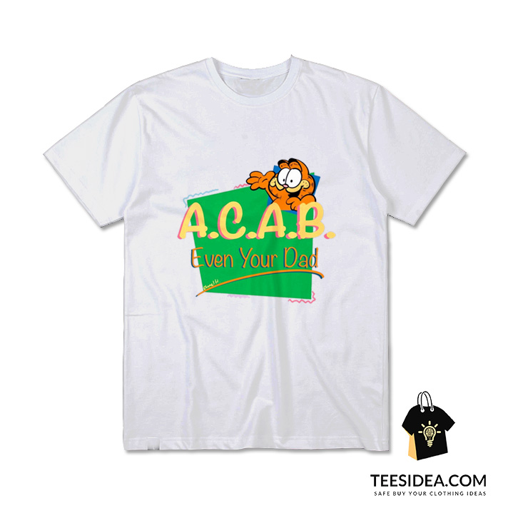 Get It Now Vintage Inspired Acab Garfield T Shirt Teesidea Com