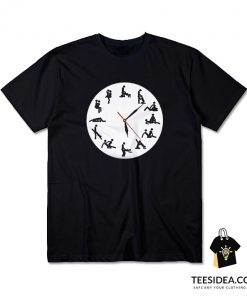 24 Hour Sexual Positions T-Shirt