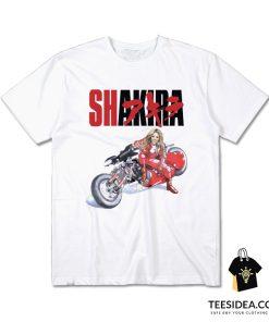 Shakira Akira Motorcycle T-Shirt