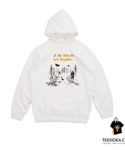 All My Friends Are Cryptids Vintage Hoodie