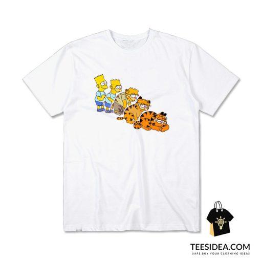 Bart To Garfield T-Shirt